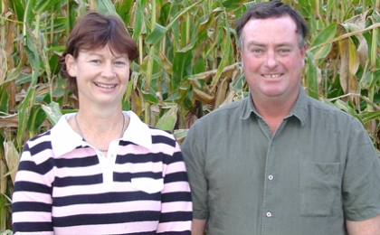 Consulting and farming combine profitably