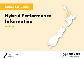 Maize Grain Hybrid Performance Information - Waikato 2019